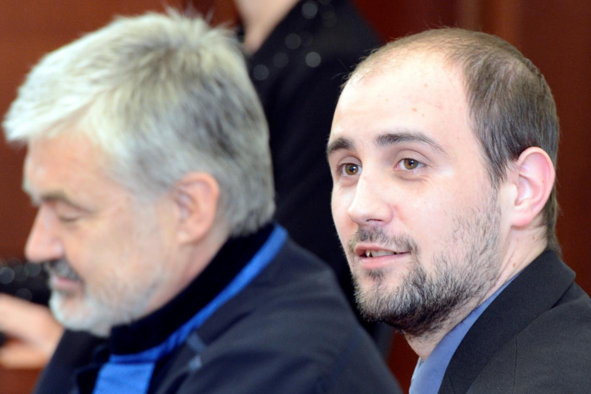 Pavel Vondrouš před soudem v Liberci