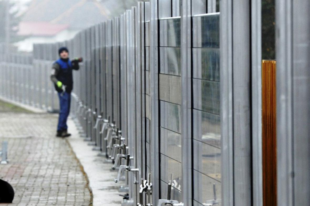 Protipovodňová stěna