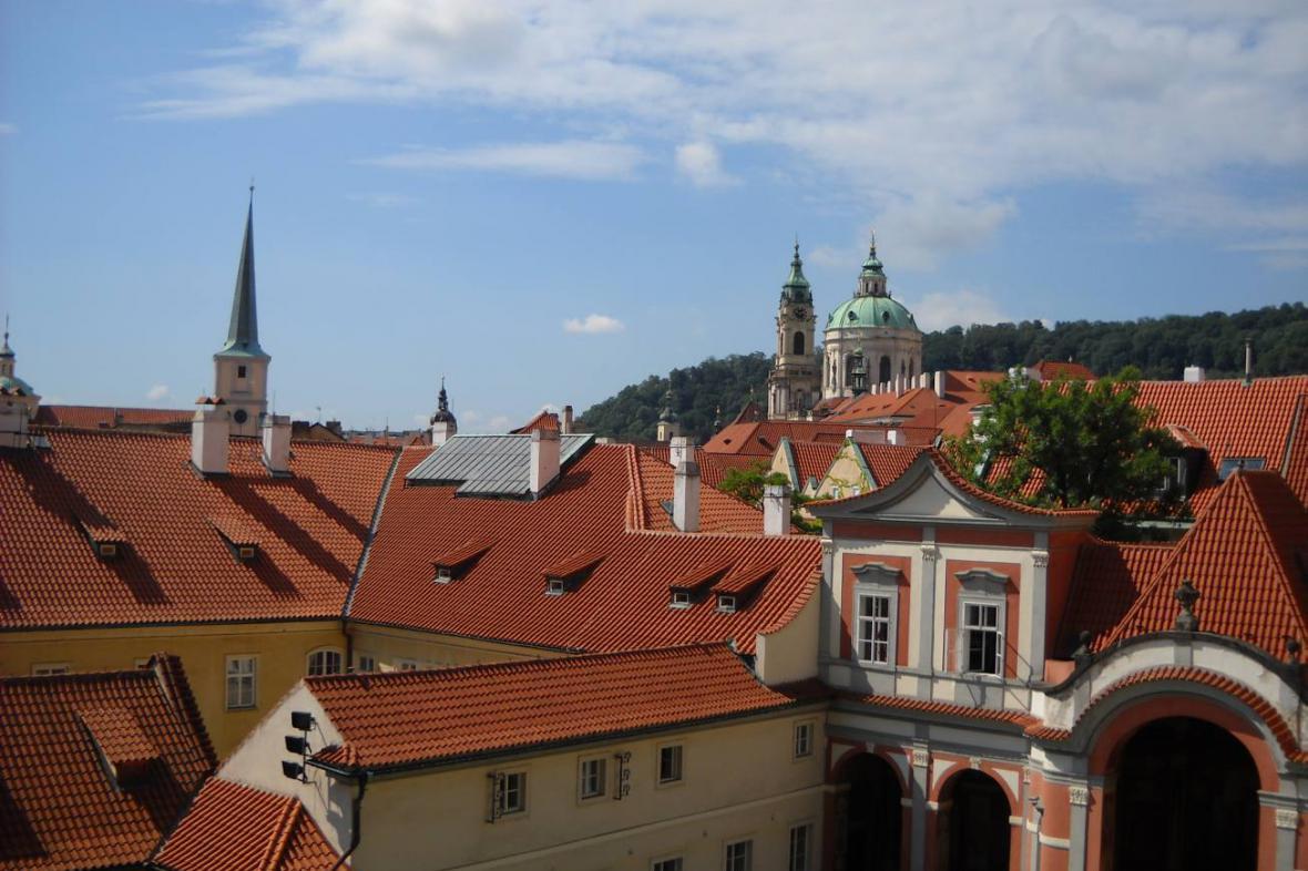 Zahrady po Pražským hradem