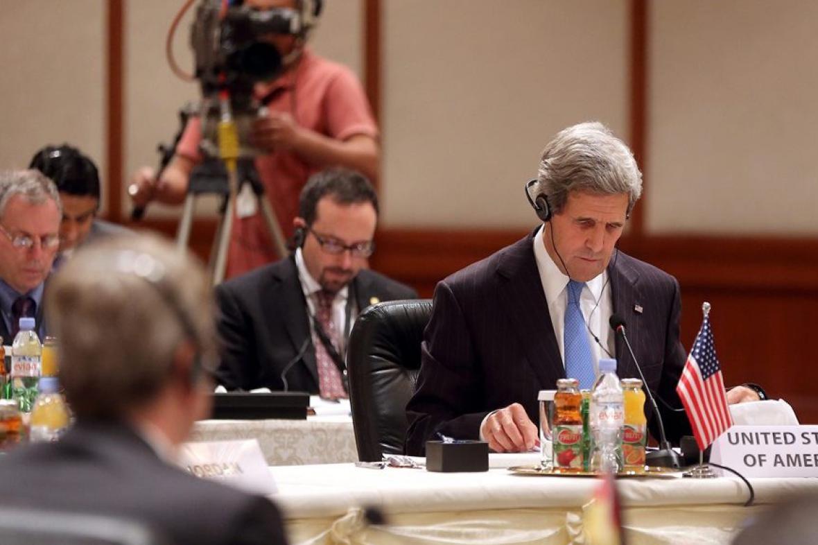 Mítink skupiny Přátel Sýrie