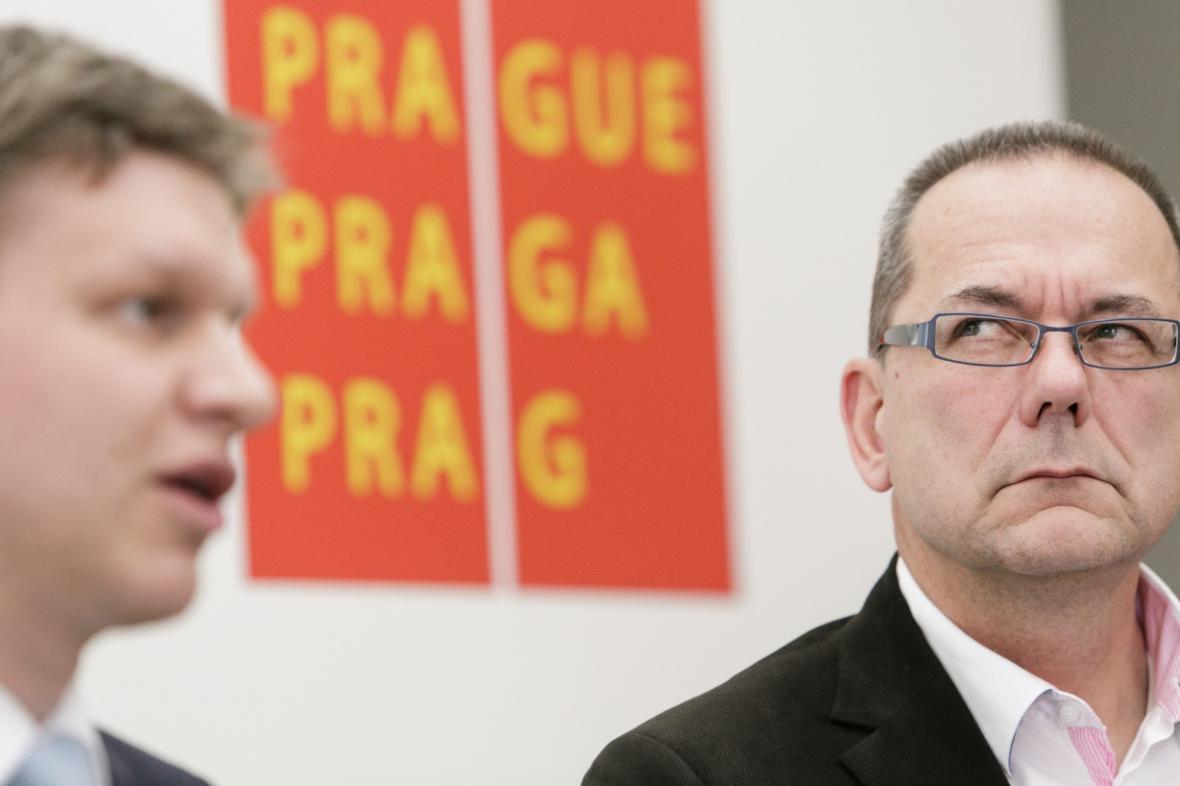 Tomáš Hudeček (vlevo) a Jiří Vávra