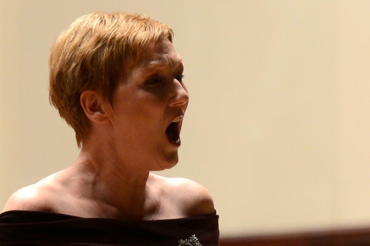 Německá sopranistka Angela Denokeová