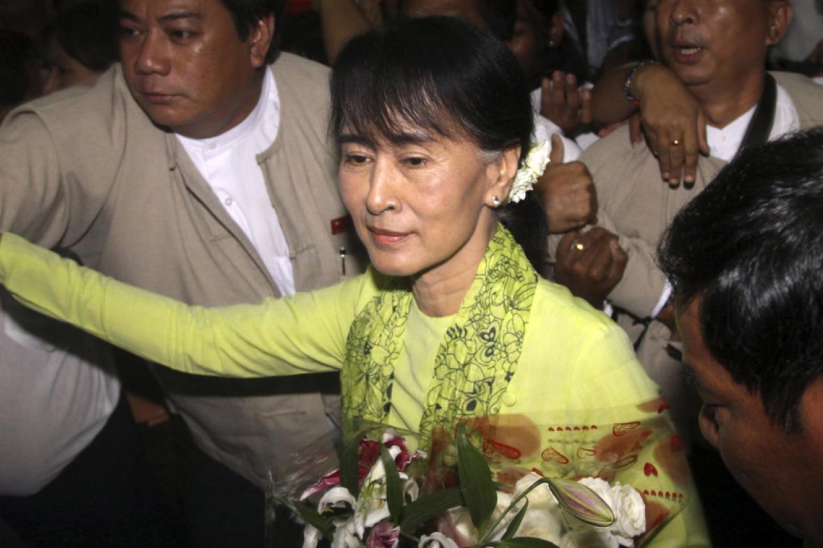 Su Ťij míří do USA