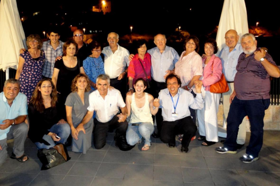 Matej Mináč a část Nickyho rodiny