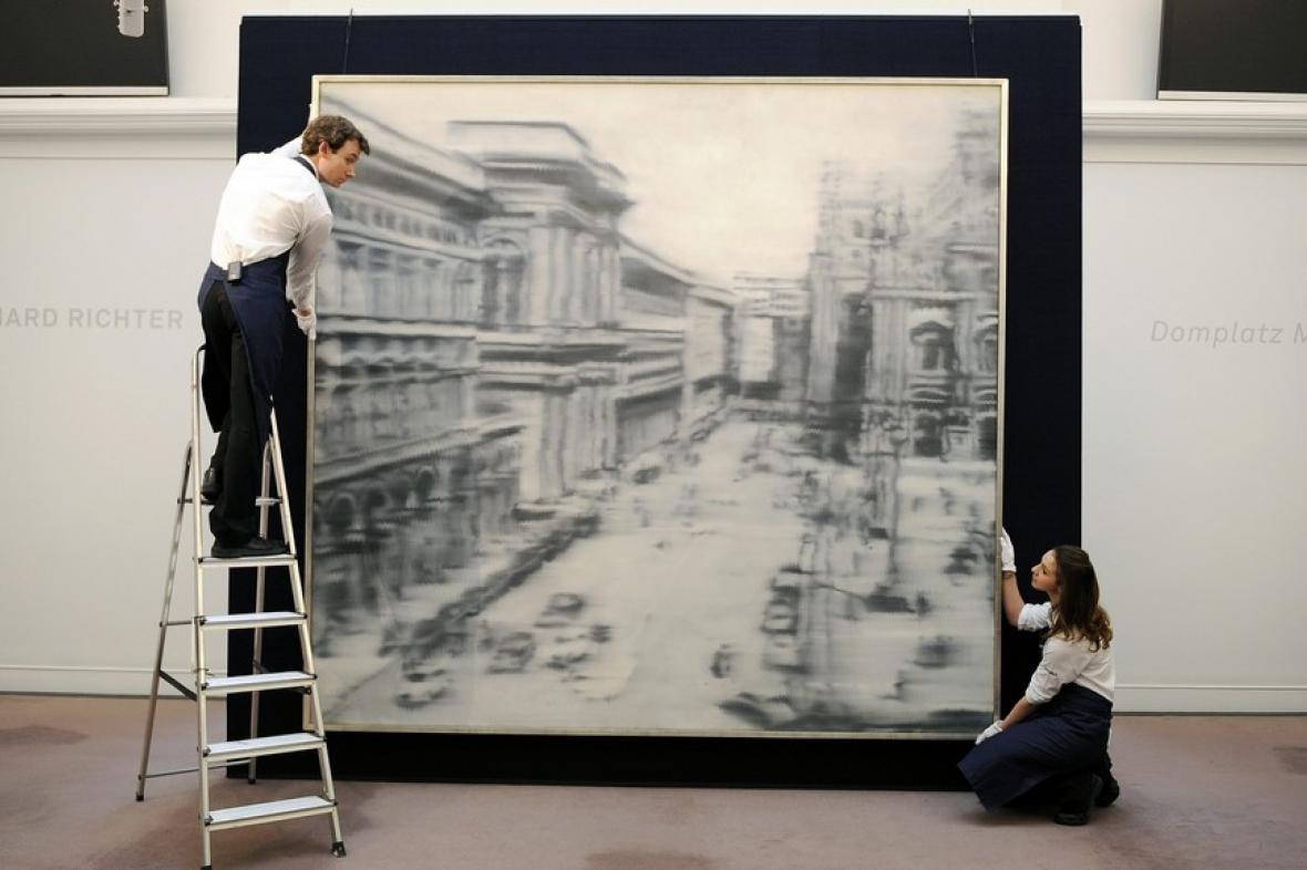 Gerhard Richter / Domplatz, Mailand (1968)