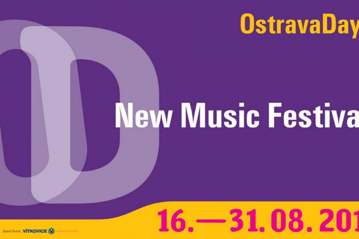 Ostravské dny nové hudby / poutač