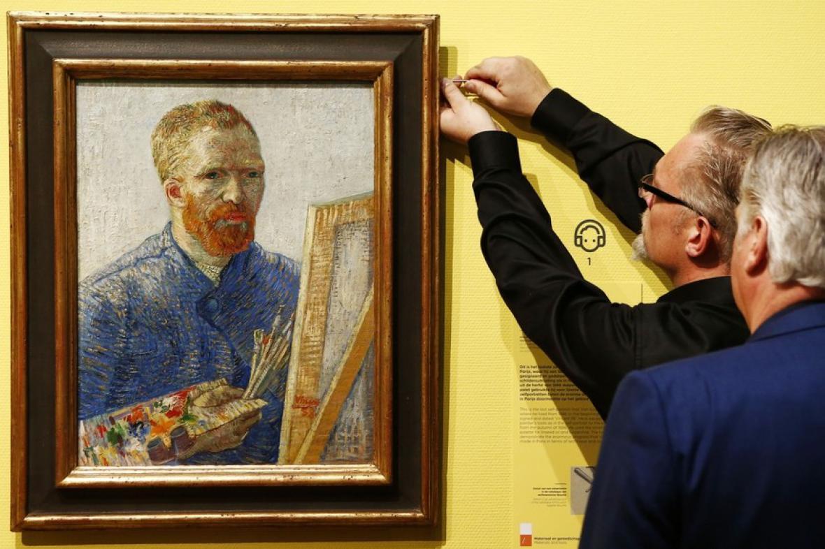 Autoportrét Vincenta van Gogha (1888)