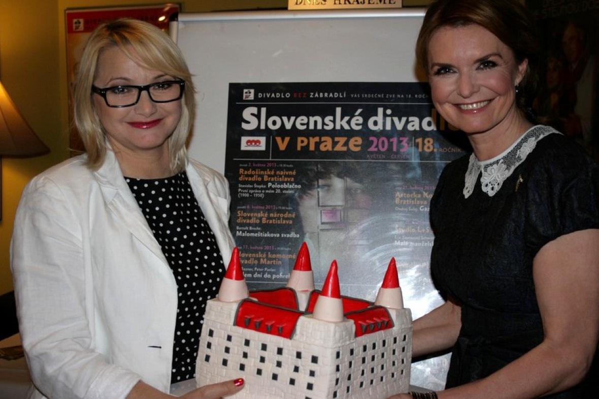 Anna Šišková a Hana Heřmánková