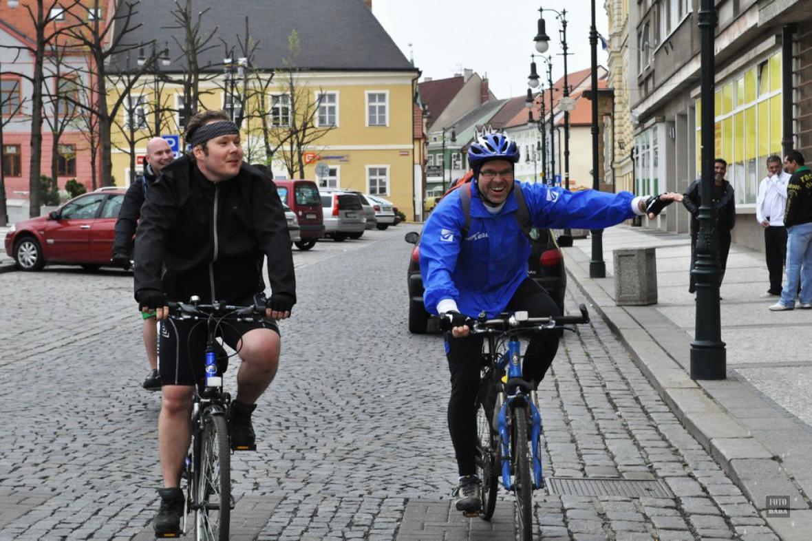 Ze zahájení cyklistické sezony - Dolní Poohří