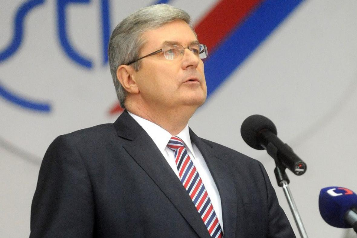Předseda ČUS Miroslav Jansta