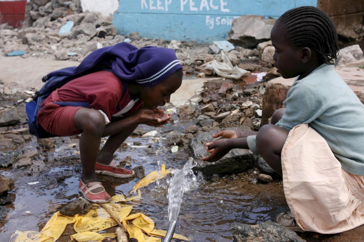 Pitná voda v Africe