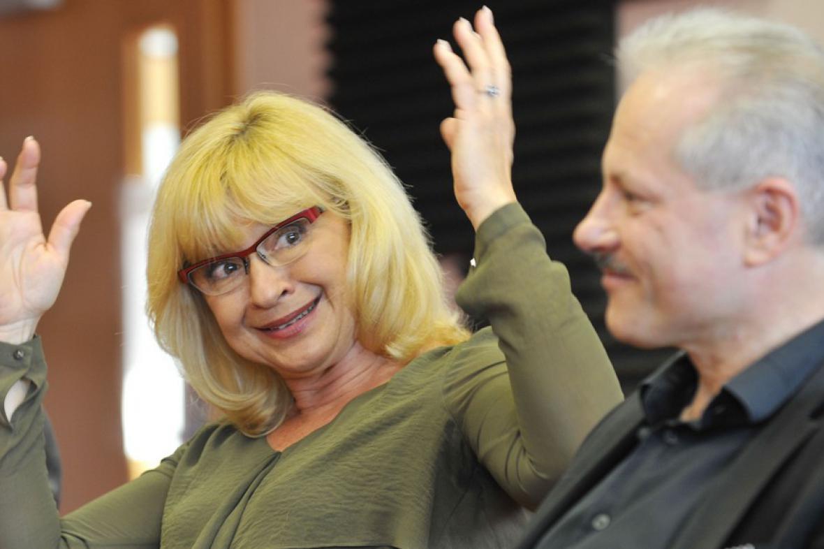 Jana Paulová a Michael Tarant