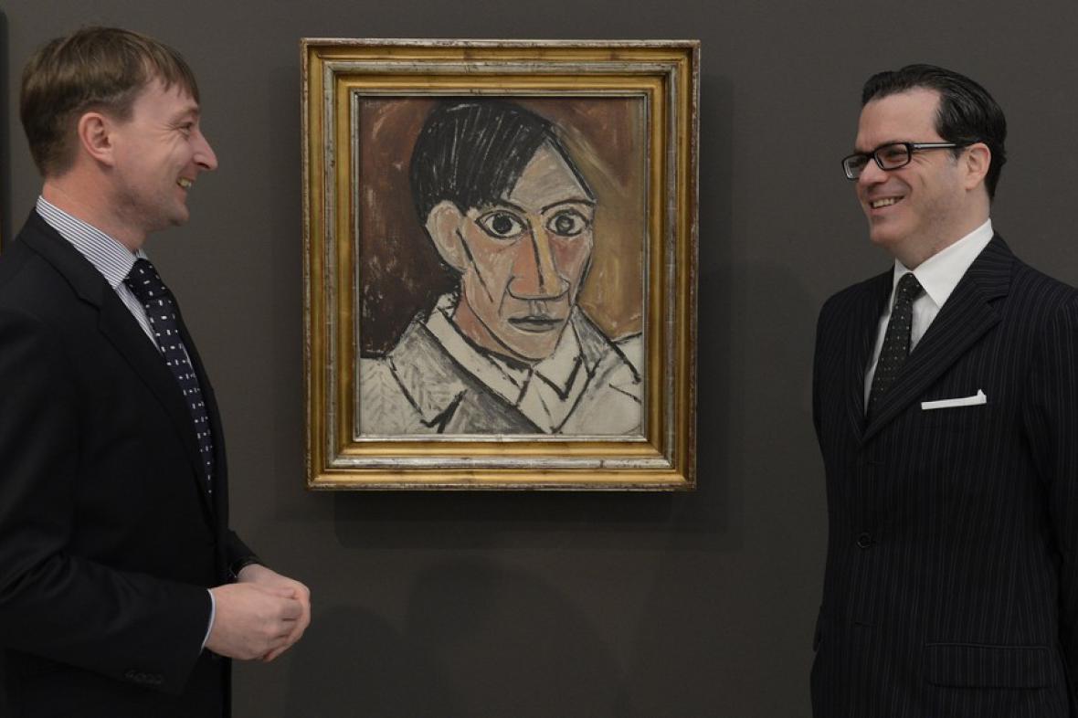 Autoportrét Pabla Picassa v Národní galerii