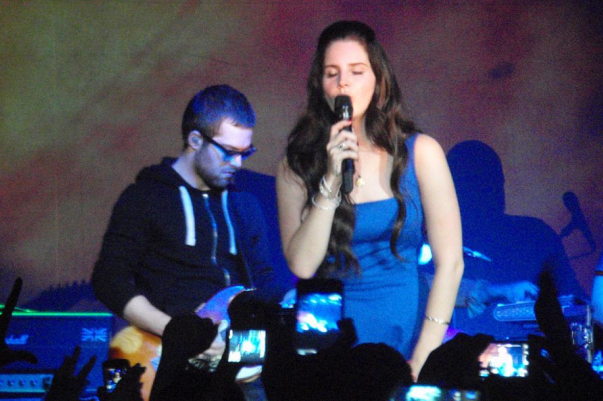 Lana Del Rey v Praze
