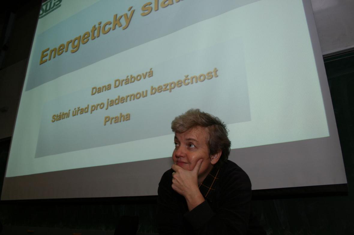 Dana Drábová na TU Liberec