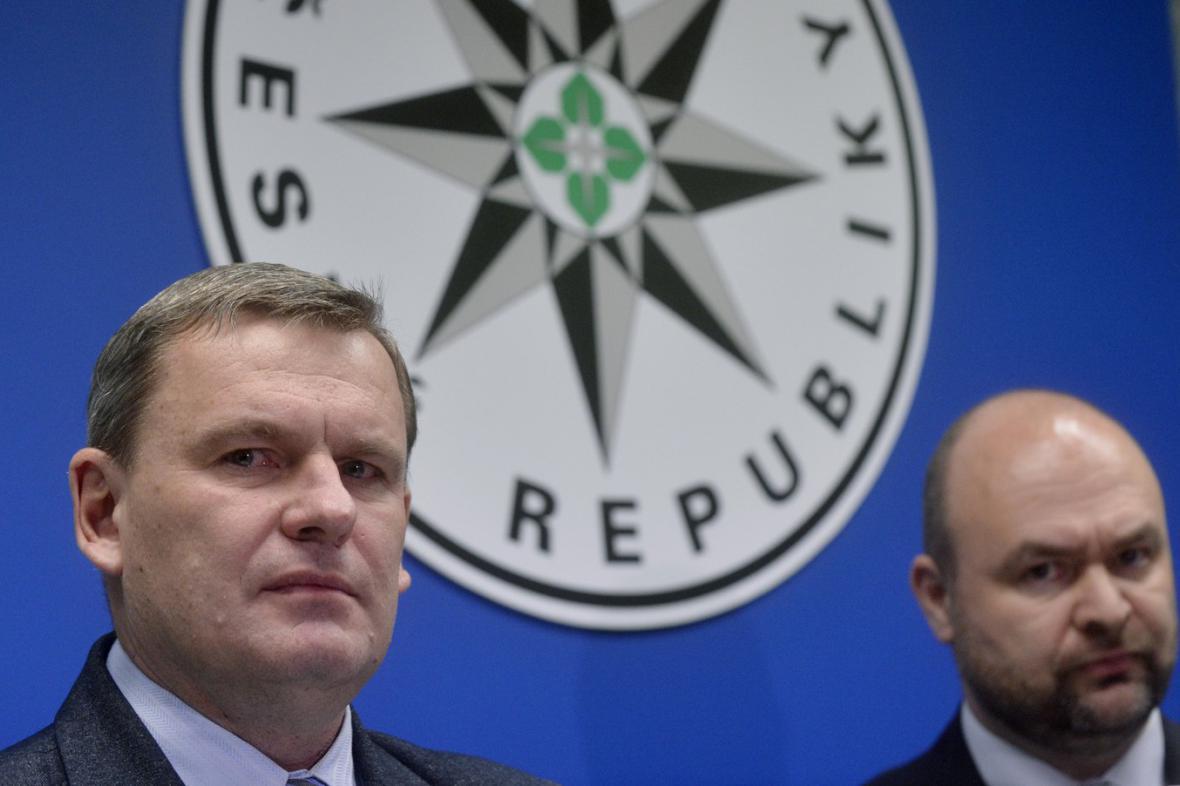 Tomáš Martinec (vlevo) a Milan Poulíček