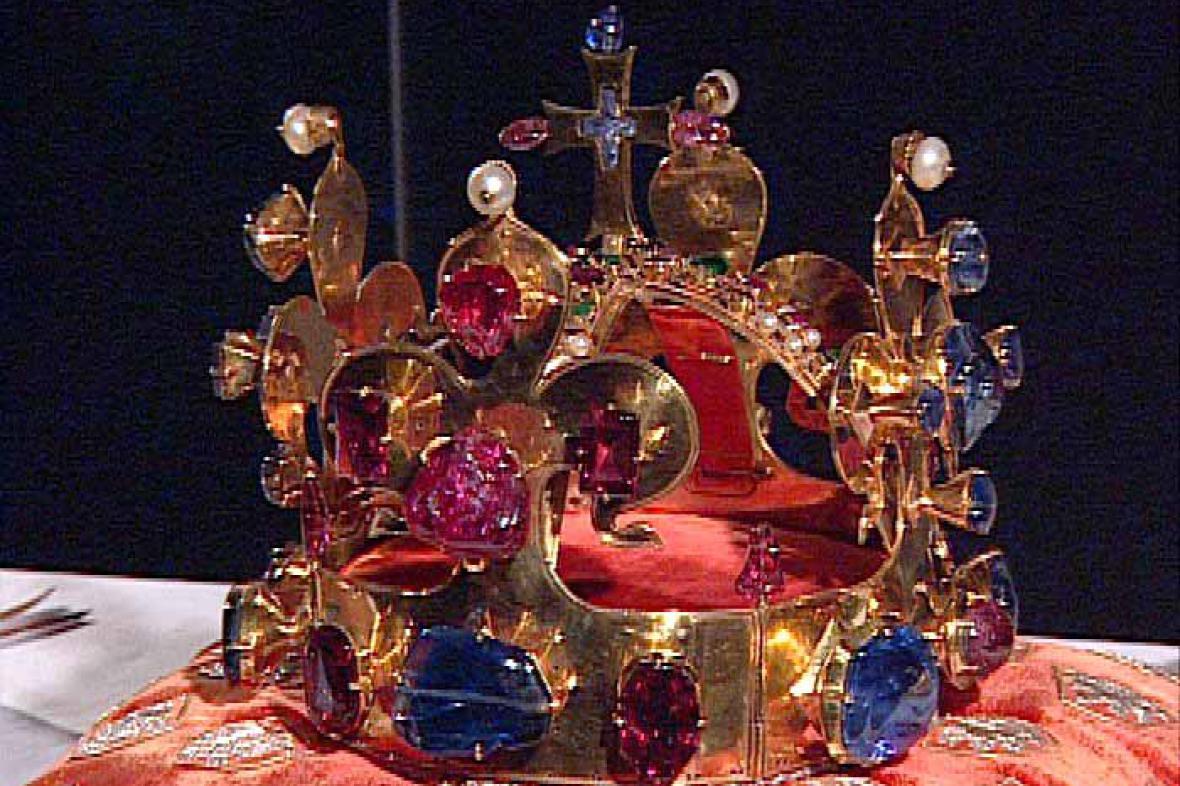 Svatováclavská koruna Karla IV.