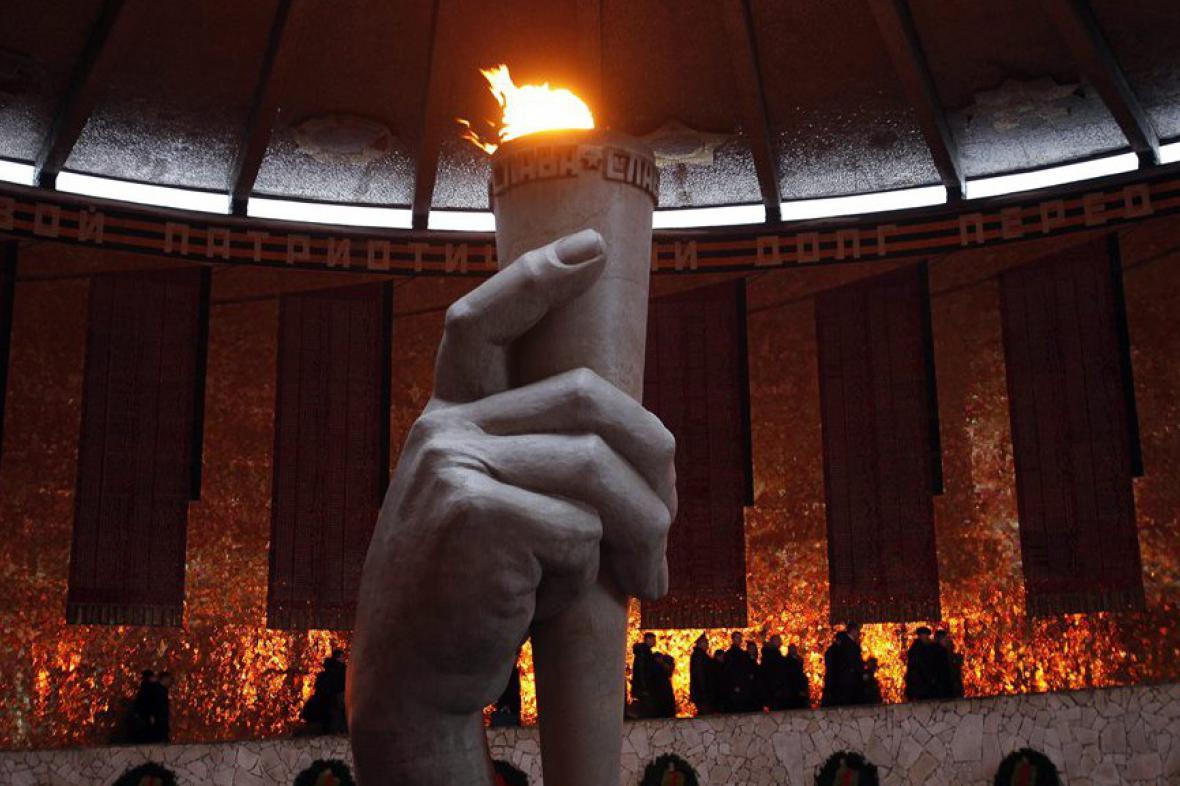 Věčný oheň ve Volgogradu