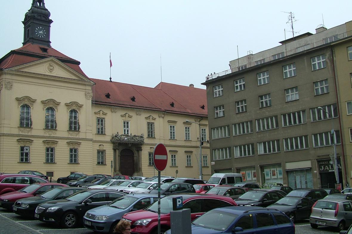 Pasáž Jalta je hned v sousedství brněnského magistrátu