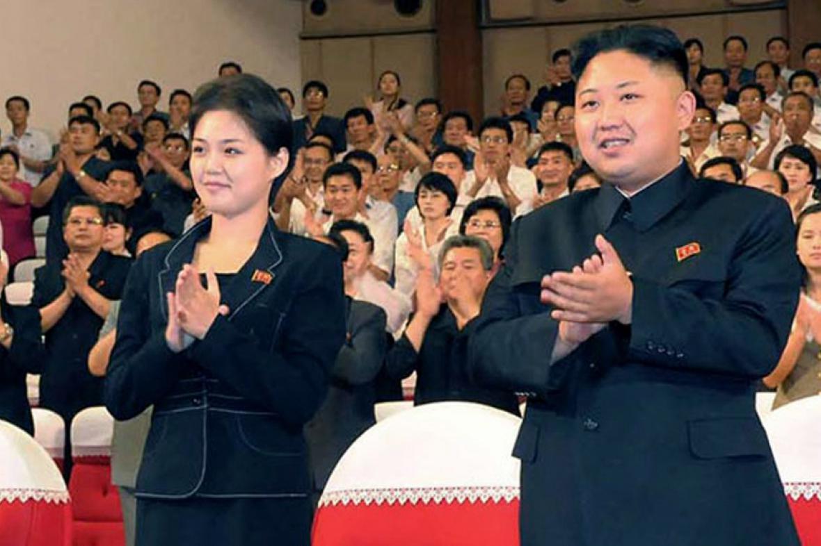 Kim Čong-un se ženou