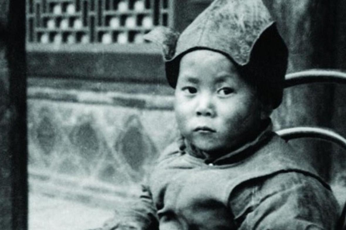 Mladý 14. dalajlama