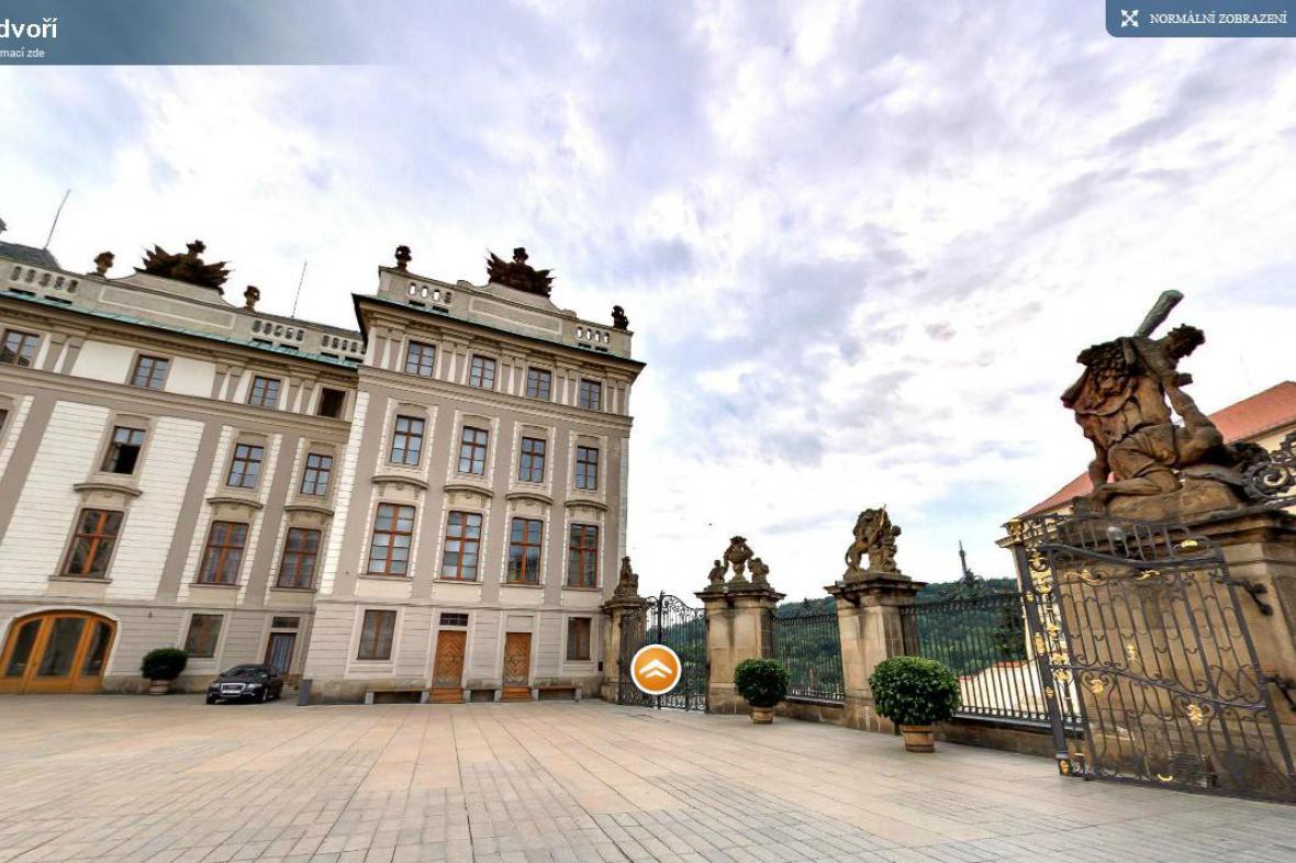 Virtuální prohlídka Pražského hradu