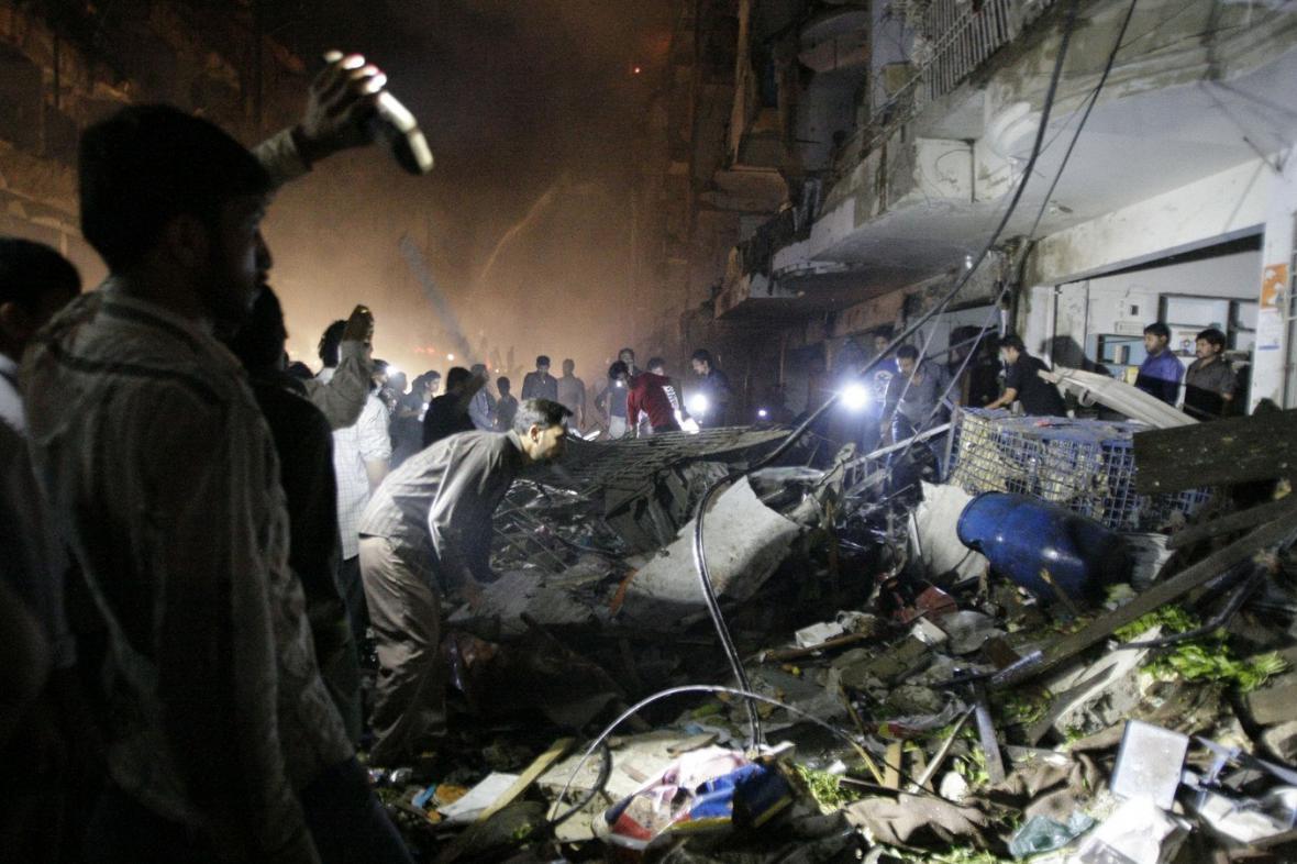 Exploze v Karáčí