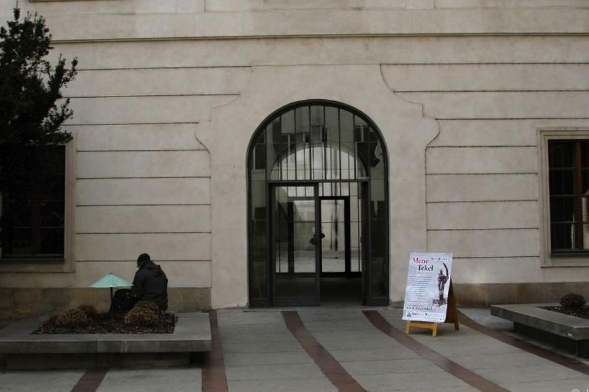 Vstup do galerie Karolinum