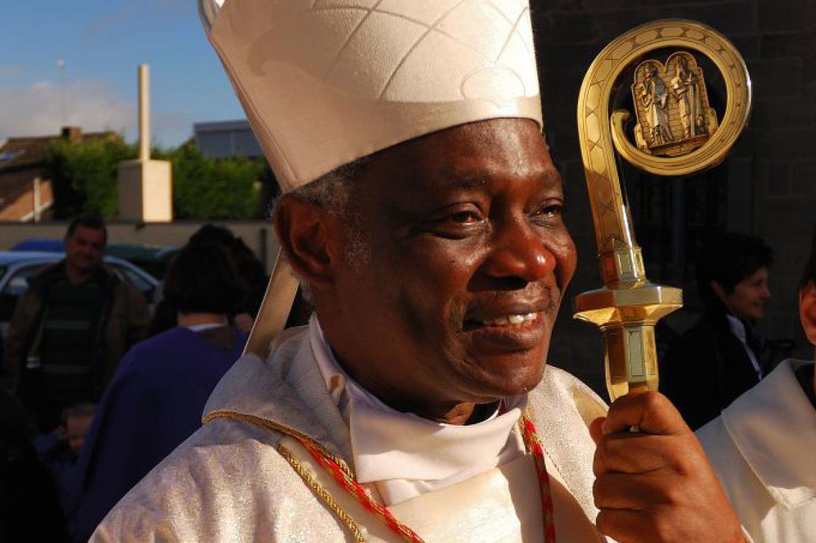 Ghanský kardinál Peter Kodwo Appiah Turkson