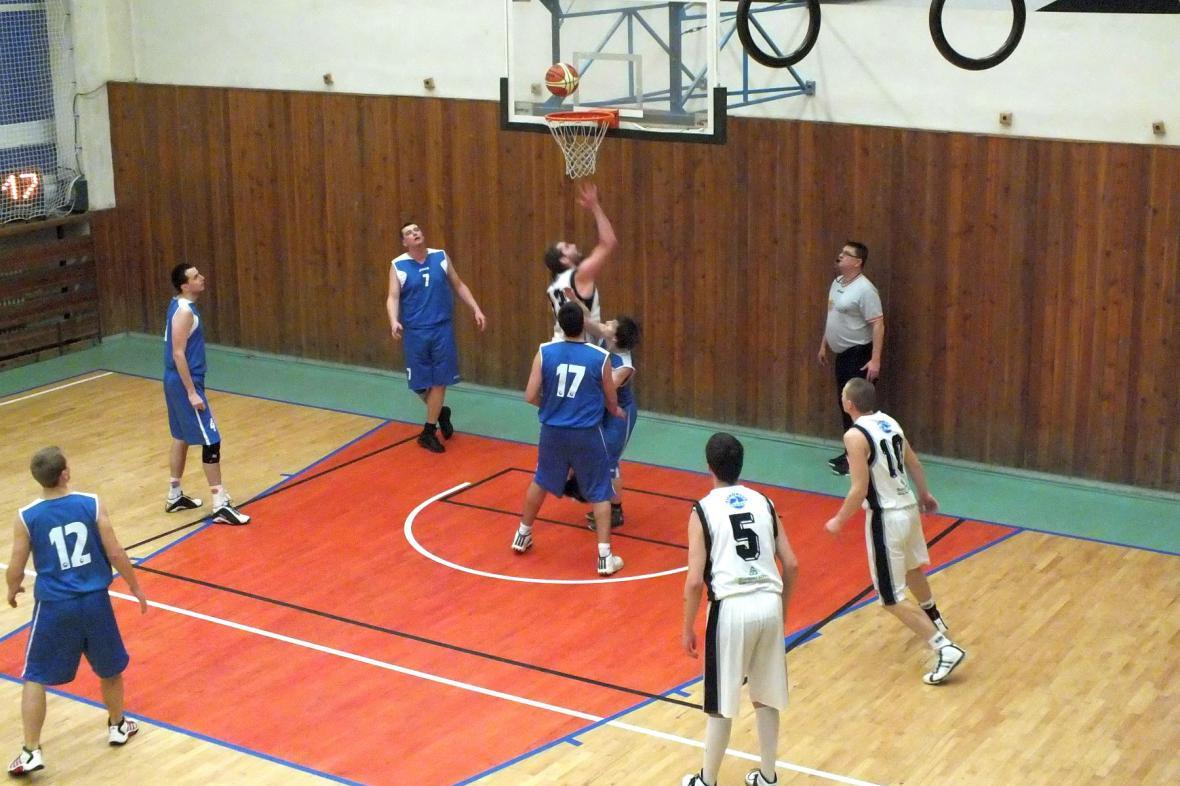 Z basketbalového turnaje v Boskovicích