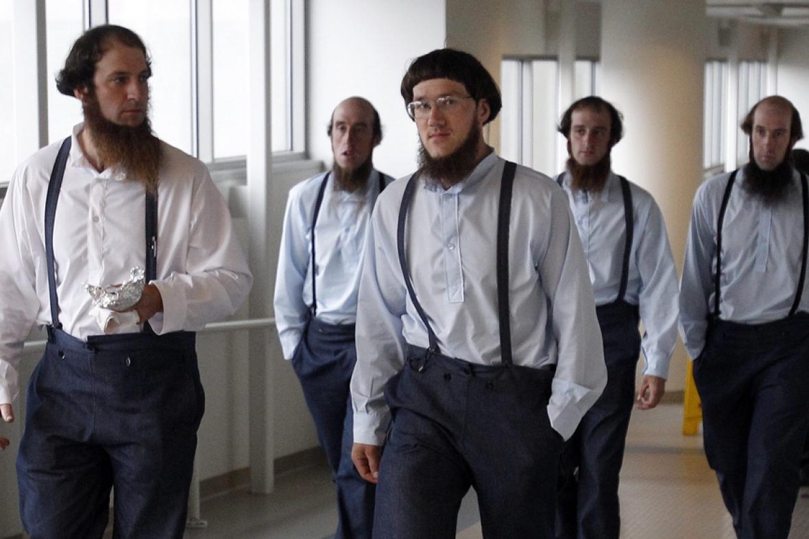 Začátek procesu s odpadlíky od Amišů - srpen 2012