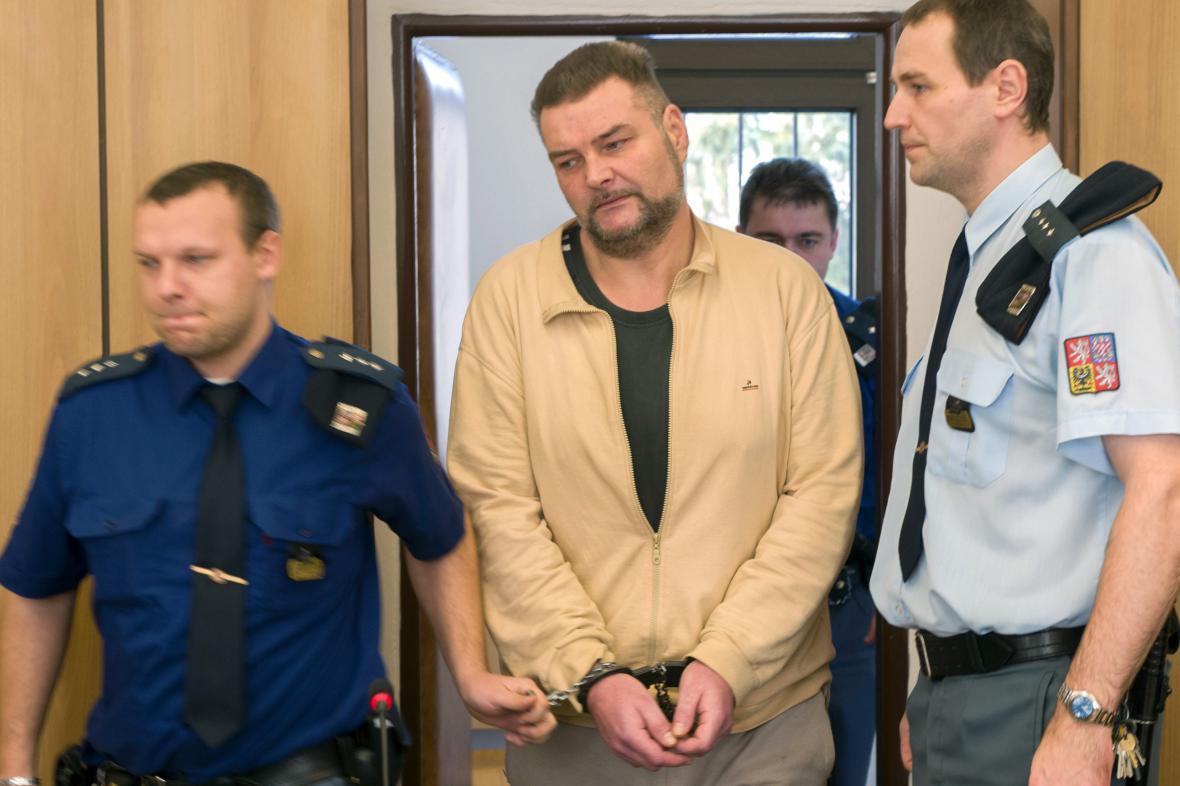 Odsouzený Roman Koutný