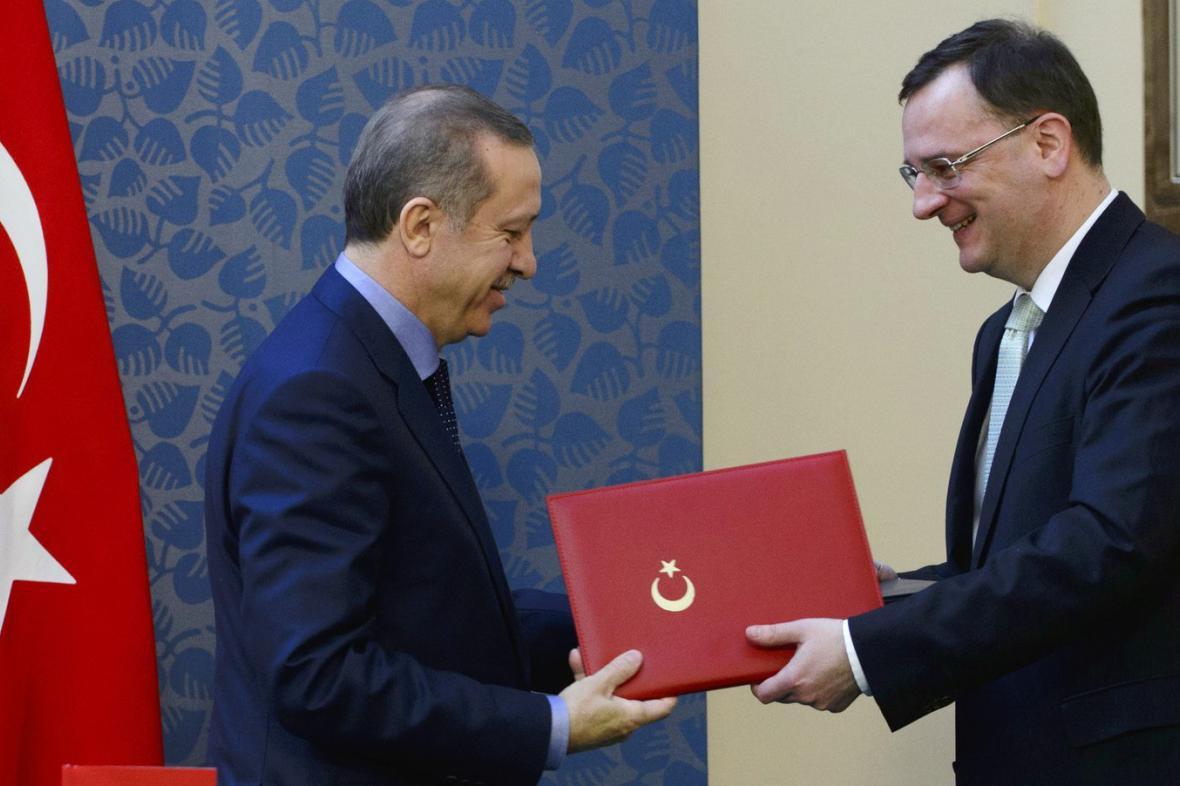 Česko-turecké vztahy