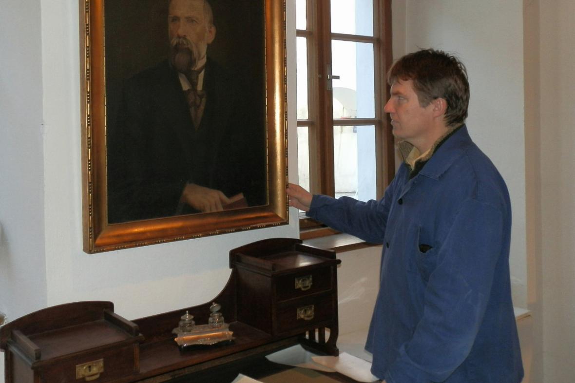 Výstava o Jaroslavu Vrchlickém v muzeu v Lounech