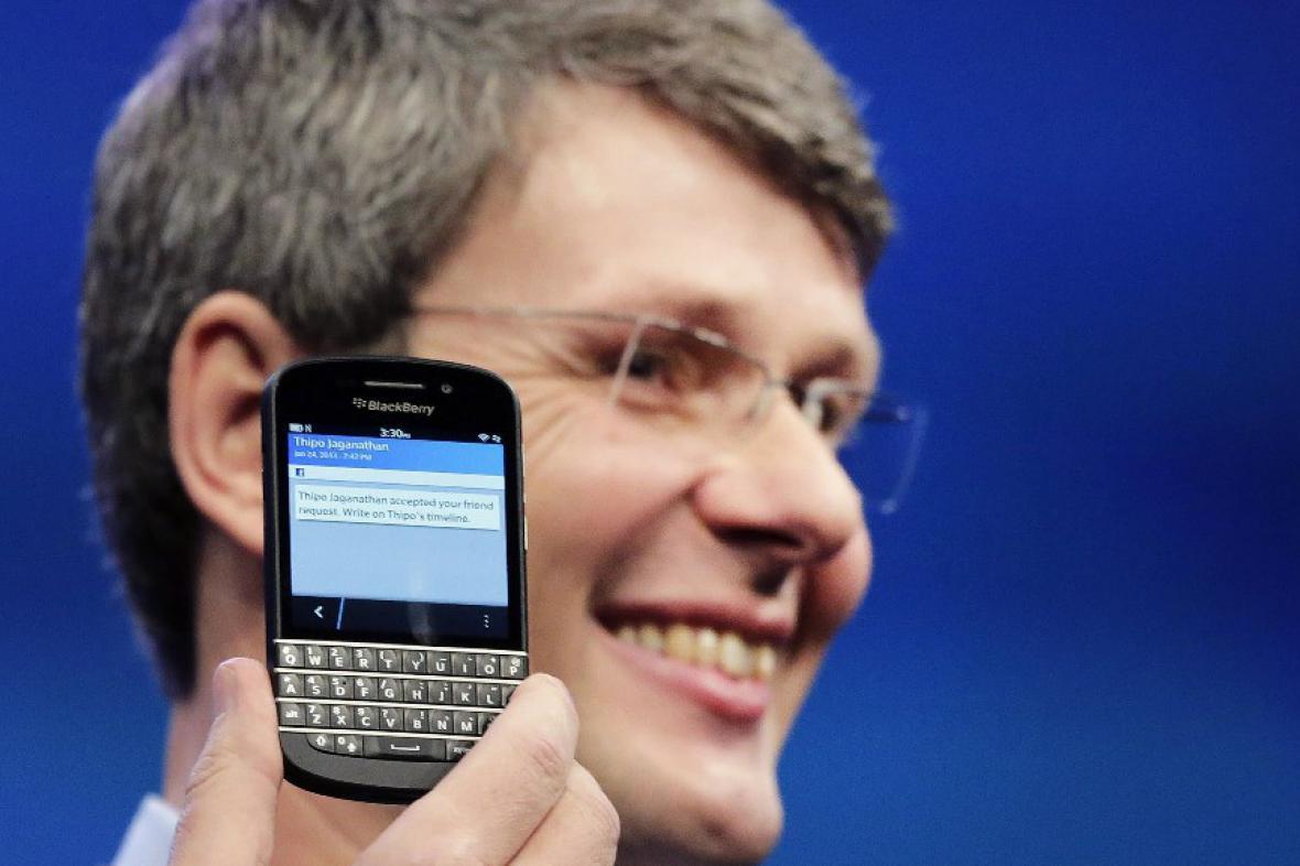 Představení BlackBerry 10