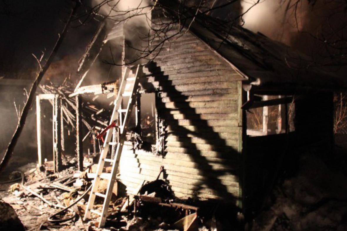 Vyhořelá chata