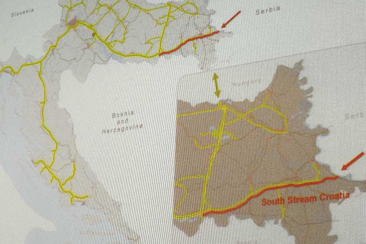 South Stream v Chorvatsku