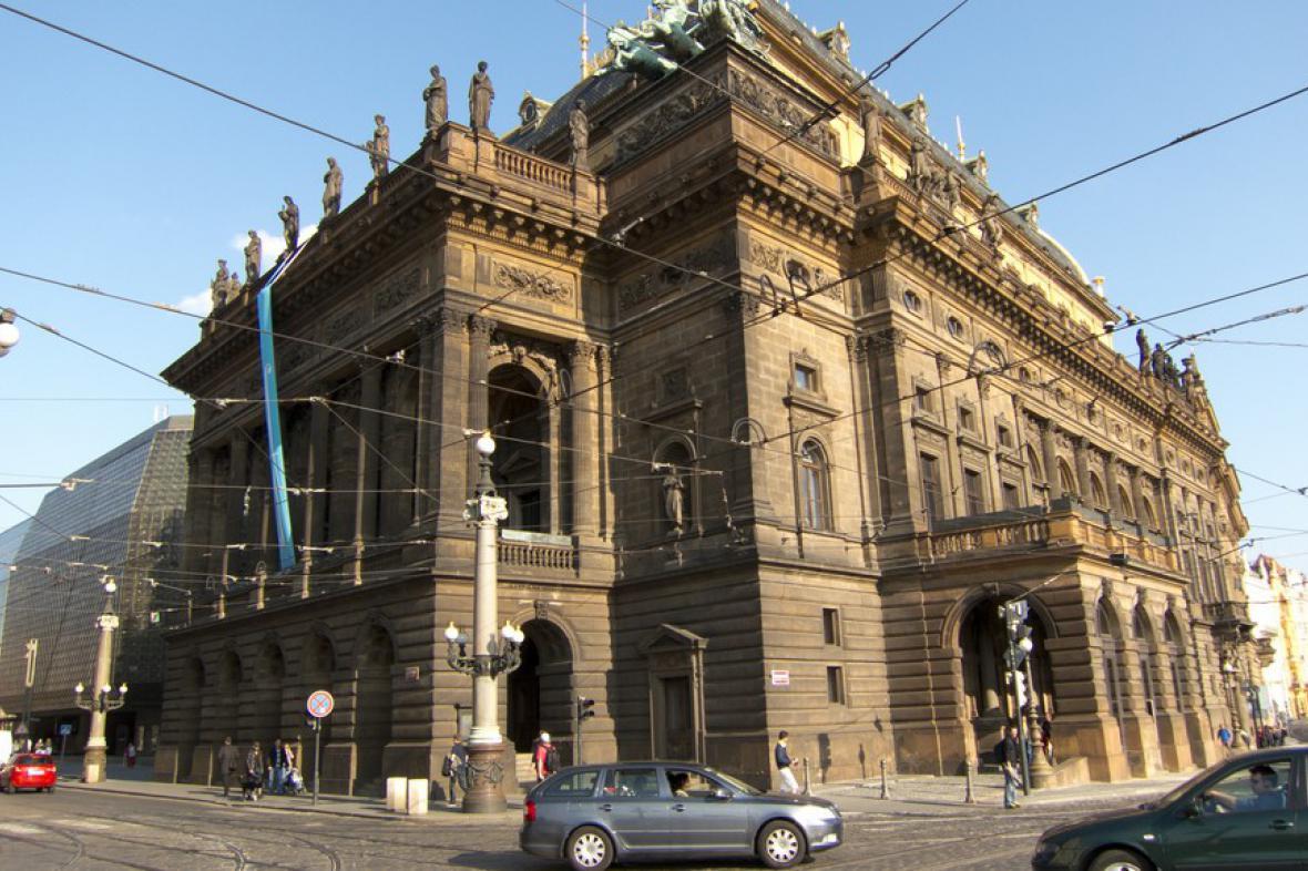 Historická budova Národního divadla