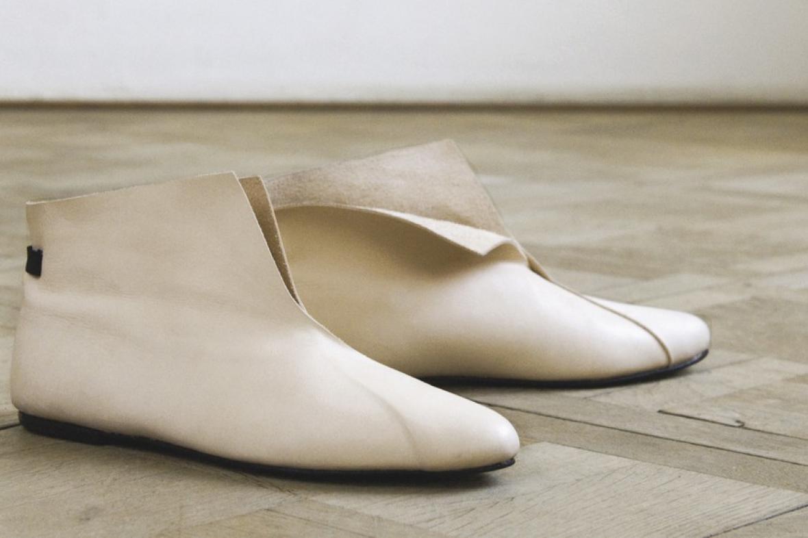 Obuv z kolekce Simply for Simple (Eliška Kuchtová)