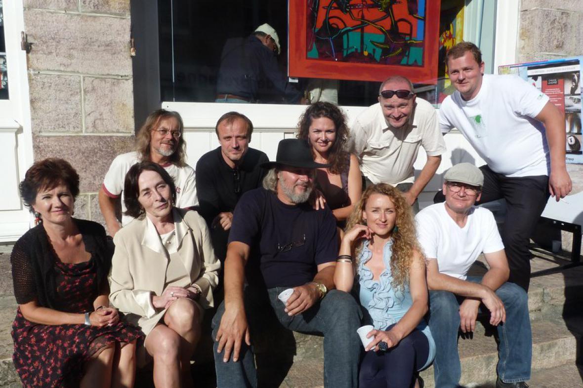 Výtvarní umělci v Erquy