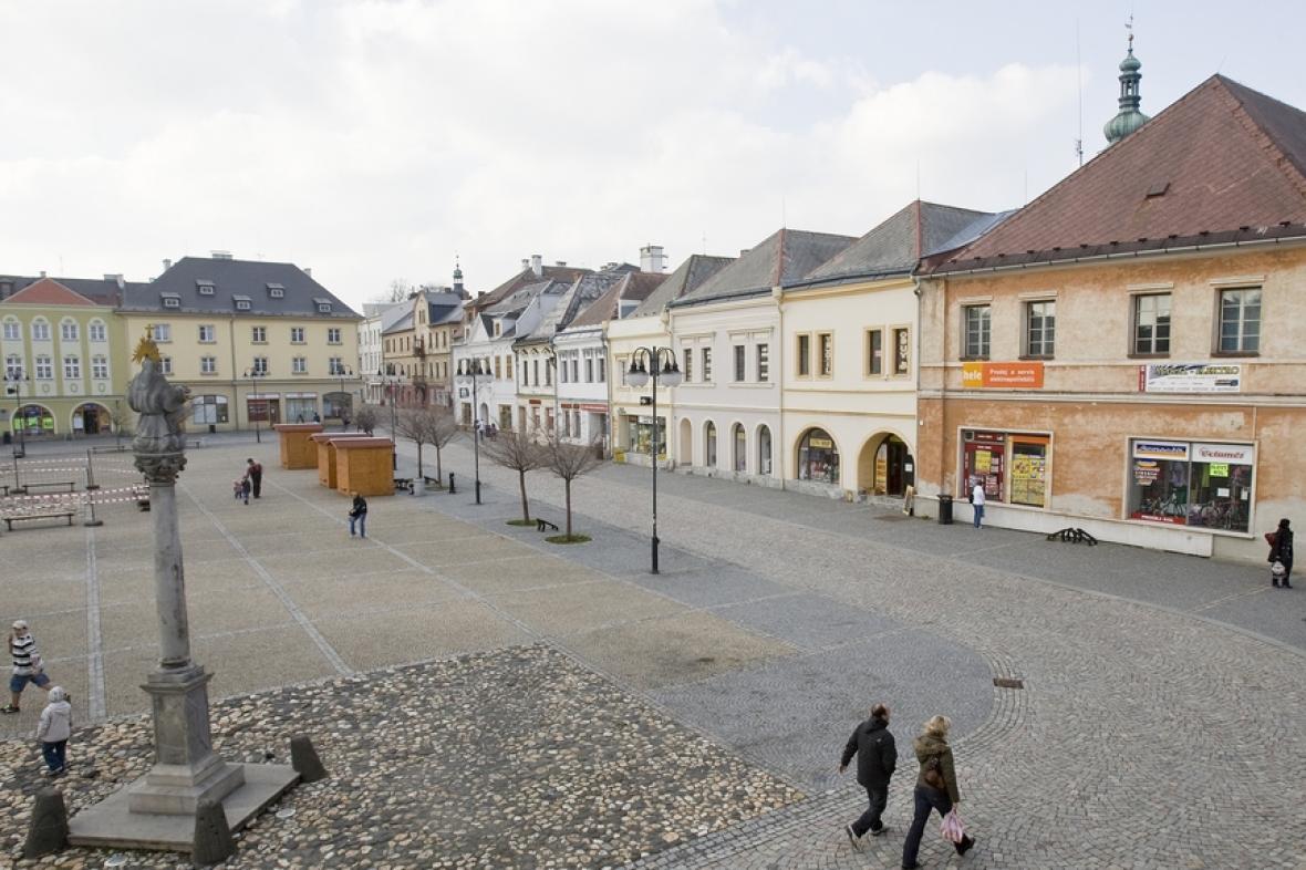 Náměstí  v Bruntálu