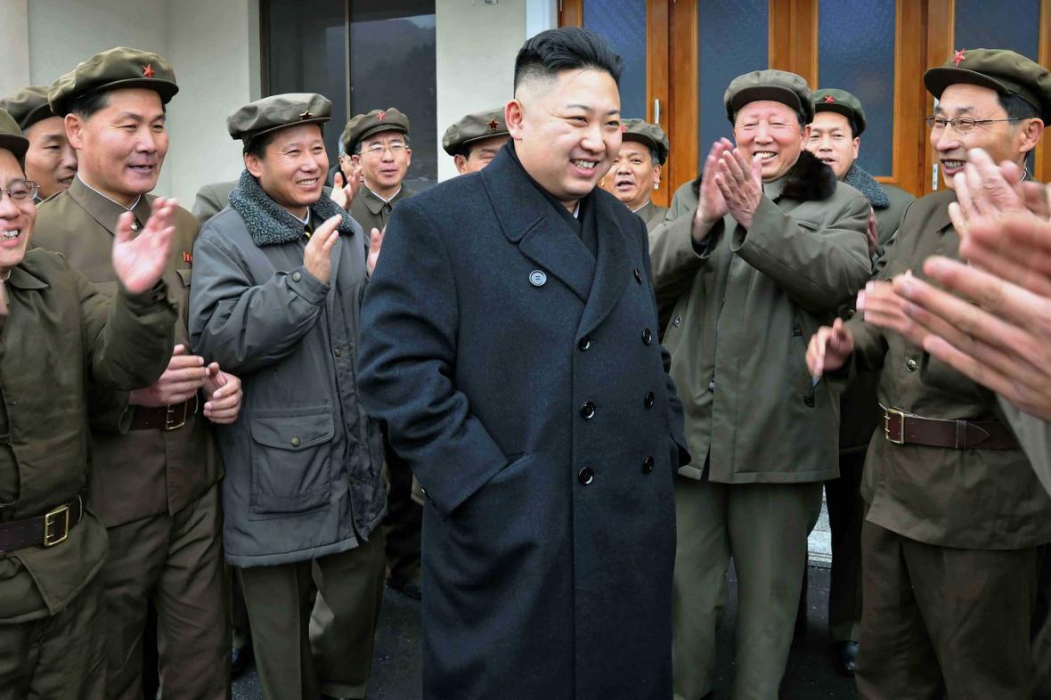 Korejský diktátor Kim Čong-un