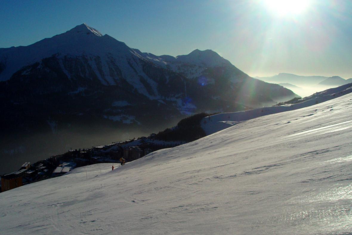 Orciéres potěší i náročnější lyžaře