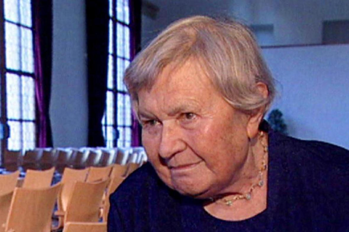 Spisovatelka Květa Legátová