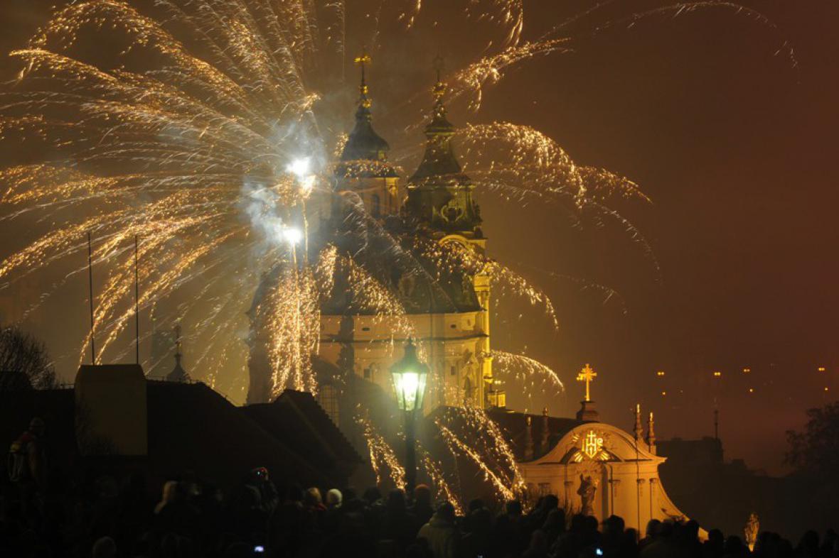 Silvestr v Praze