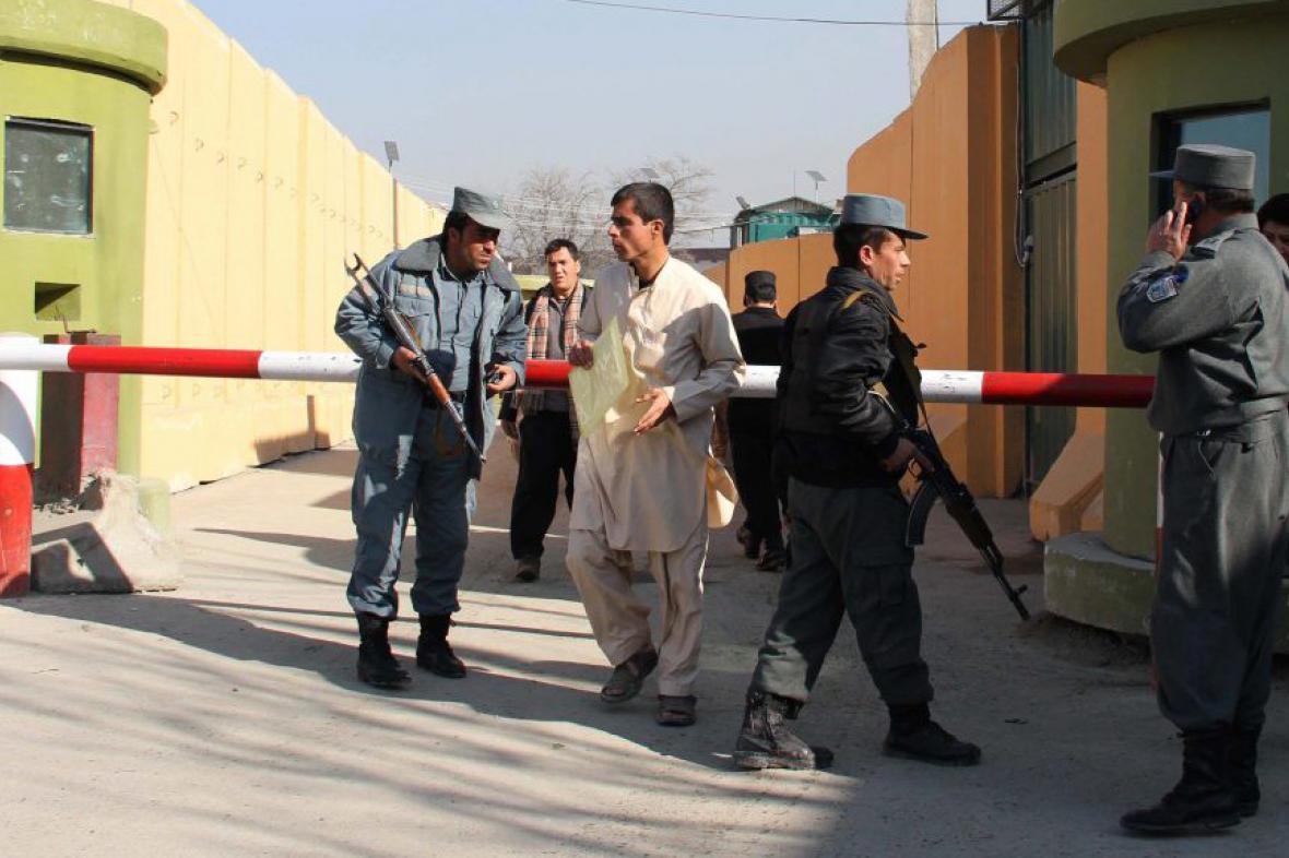 Policejní velitelství v Kábulu