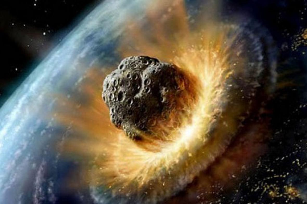 Srážka s kometárním jádrem