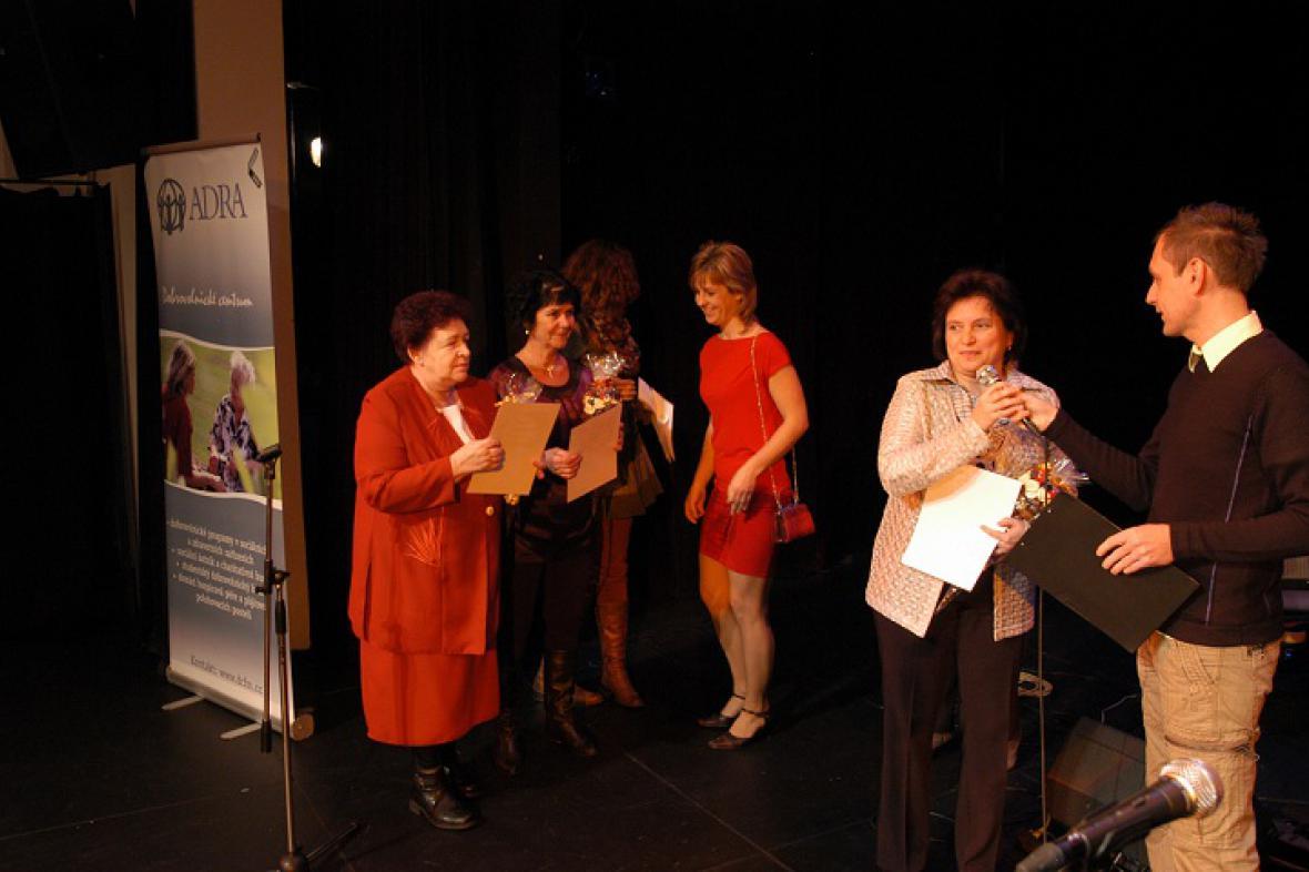 ADRA - ocenění dobrovolníků