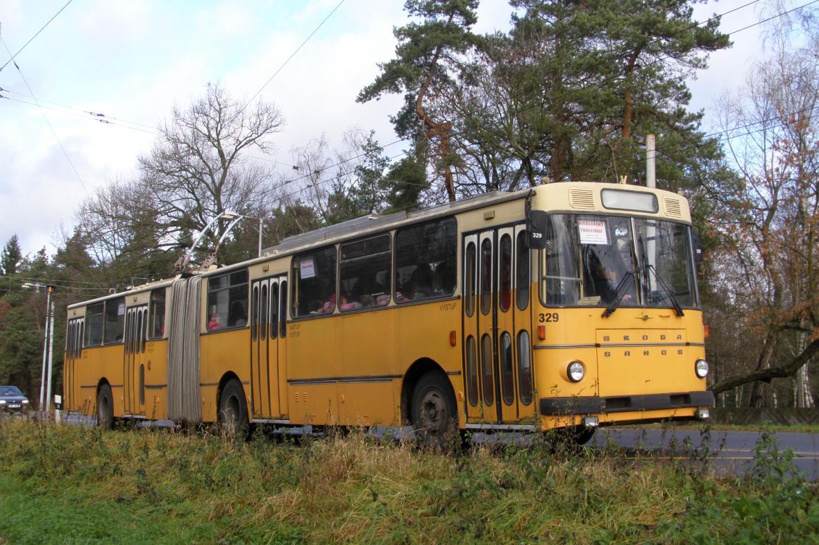 Trolejbus v Pardubicích