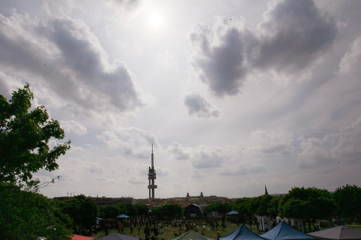 Výhled z parku Parukářka